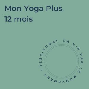 Abonnement - Mon Yoga Plus 12 mois
