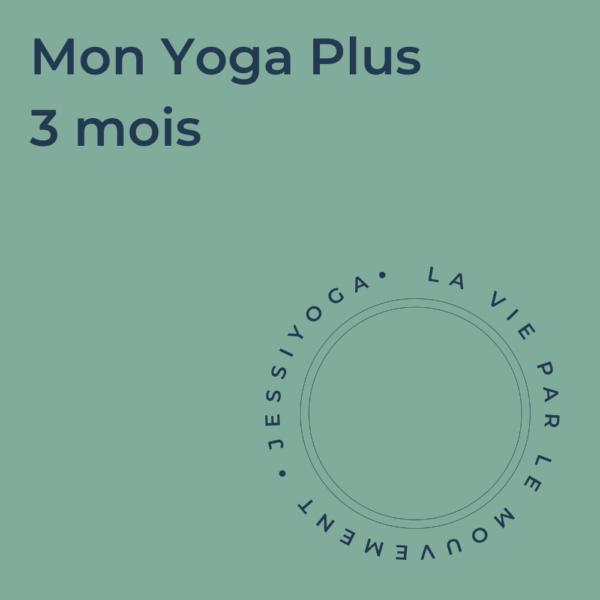 Abonnement - Mon Yoga Plus 3 mois