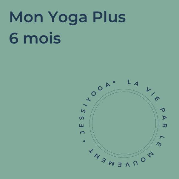 Abonnement - Mon Yoga Plus 6 mois