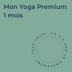 Abonnement - Mon Yoga Premium 1 mois