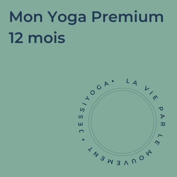 Abonnement - Mon Yoga Premium 12 mois