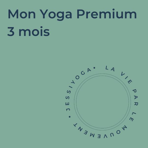 Abonnement - Mon Yoga Premium 3 mois