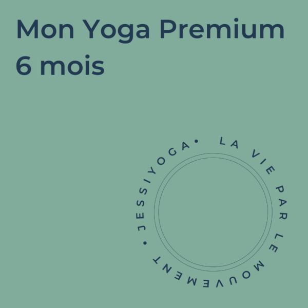 Abonnement - Mon Yoga Premium 6 mois